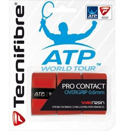 Overgrip Tecnifibre Pro Contact Red (3 piece)