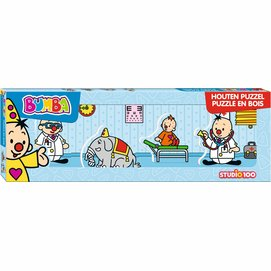 Puzzel Bumba Hout Mini Dokter (4-delig)