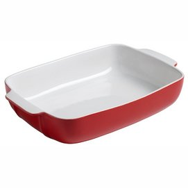 Oven Dish Pyrex Signature Rectangle Red 30 x 22 cm