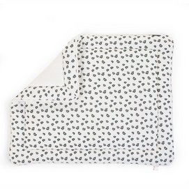 Boxkleed Childhome Leopard Wit (75 x 95 cm)