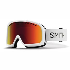 Skibril Smith Project White / Red Sol-X Mirror