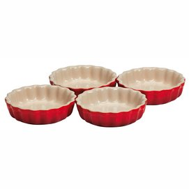 Oven Dish Le Creuset Cherry Red 11 cm (4 pc)