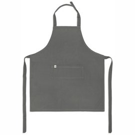 Kitchen Apron Walra Cook with Happiness Off Black-75 x 90 cm