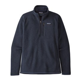 Fleece Patagonia Mens Better Sweater 1/4 Zip Neo Navy