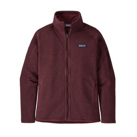 Vest Patagonia Women Better Sweater Jacket Chicory Red