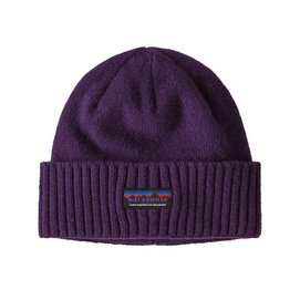 Muts Patagonia Brodeo Beanie Together for the Planet Label Purple