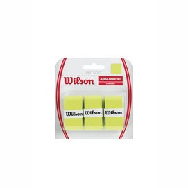 Overgrip Wilson Pro Soft Overgrip Lime (3-delig)