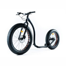 Step Kickbike Fat Max Zwart