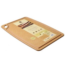 Chopping Board Sage 30 x 45 cm Natural w/ Groove