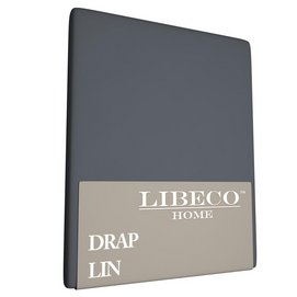 Drap Libeco Riggs Navy Lin-180 x 300 cm (1-persoons)