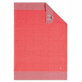 Kitchen Towel Cawö Two-Tone Red (set of 4)
